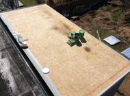 GRP Roofing System with 25 year guarantee - Ayrshire
